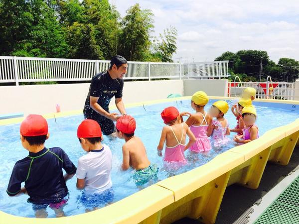 みほ幼稚園短期水泳講習会3日目