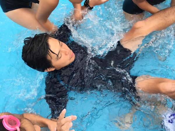 若葉幼稚園短期水泳講習会