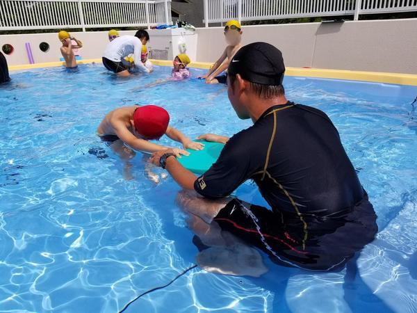 みほ幼稚園短期水泳最終日