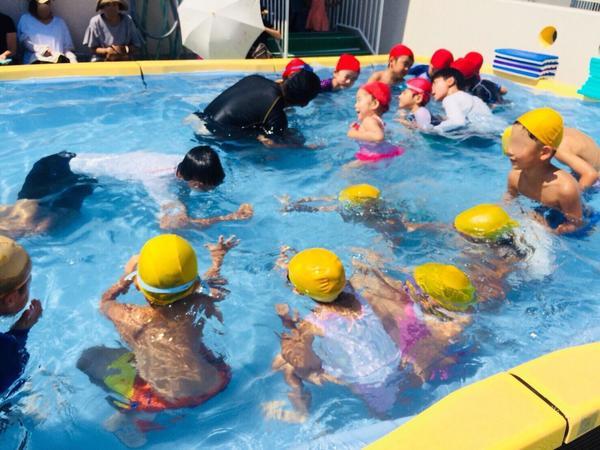みほ幼稚園短期水泳講習会